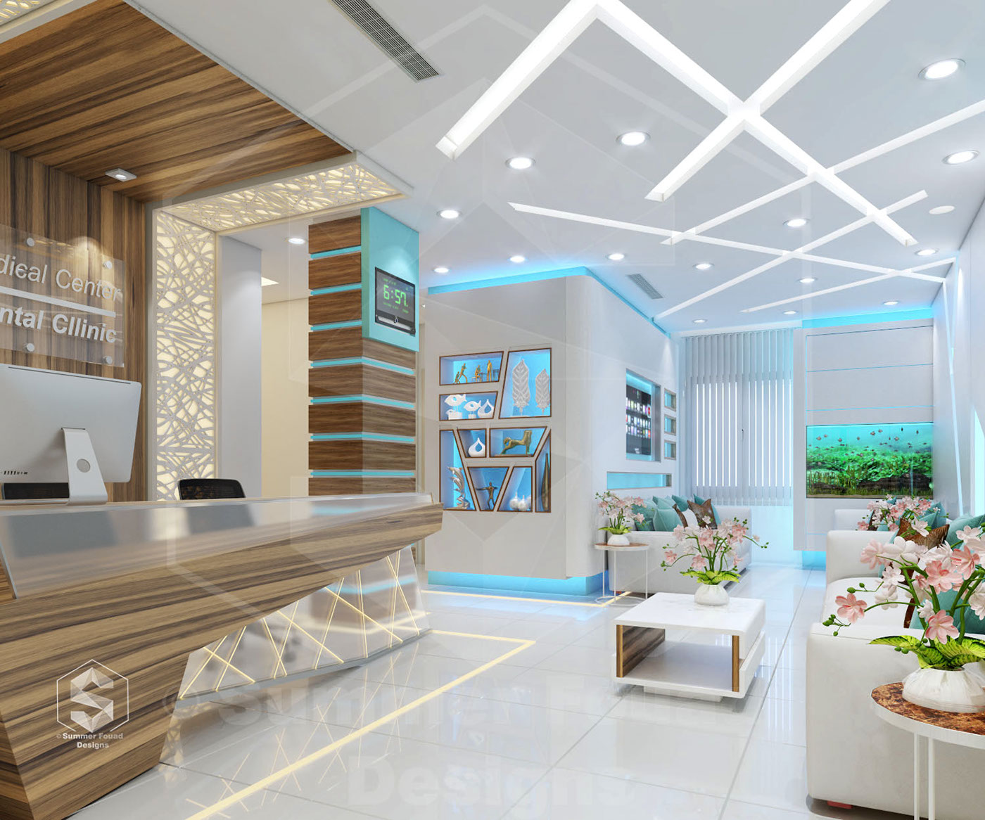Clinic S Interior Design On Behance