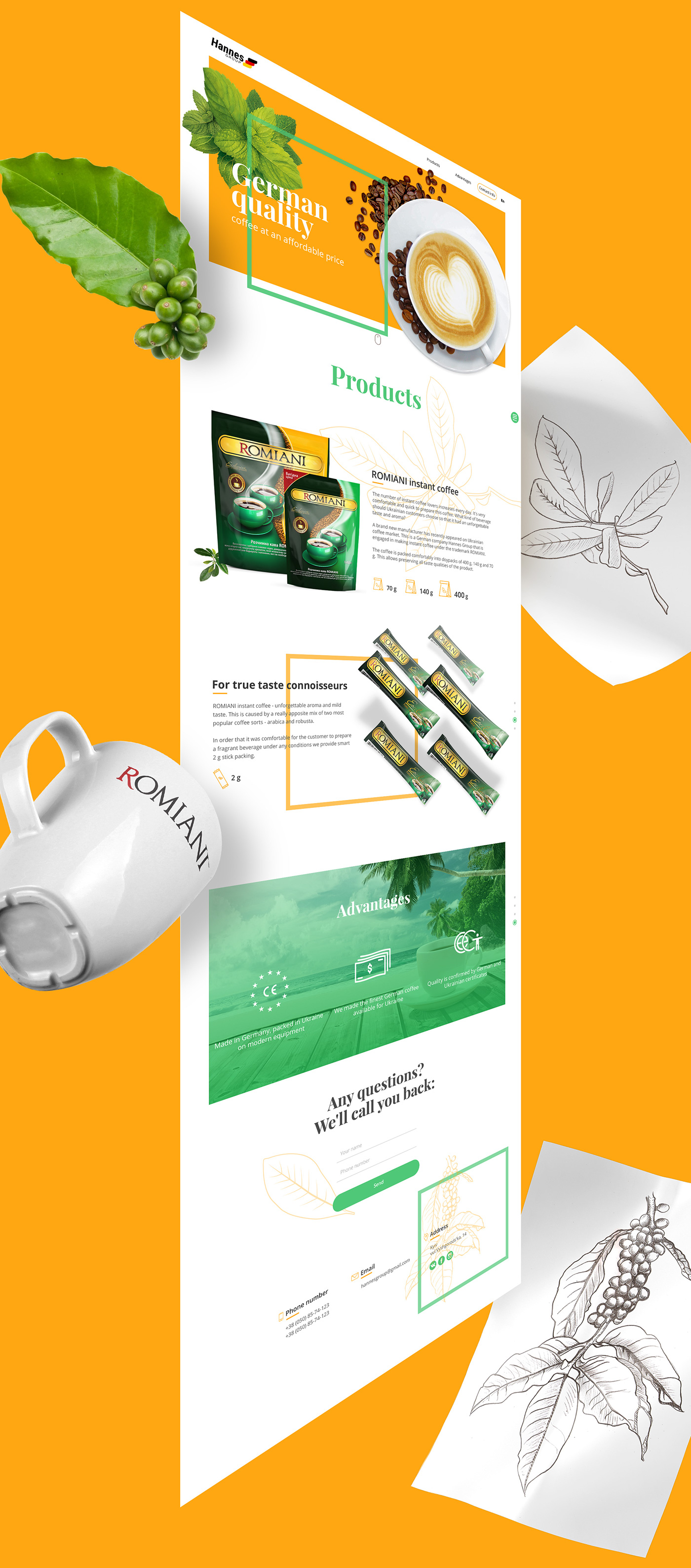 Web,Web & Mobile,UI/UX Design,Prototyping,user-experience research,coffe,package,Adobe Photoshop,adobe illustrator