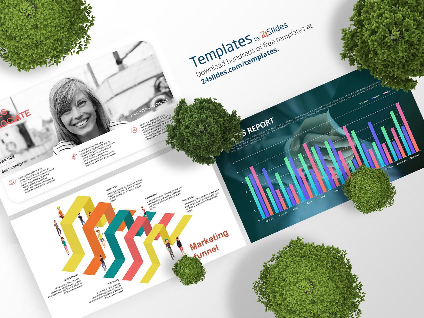 Business presentation presentation download corporate branding Free Template