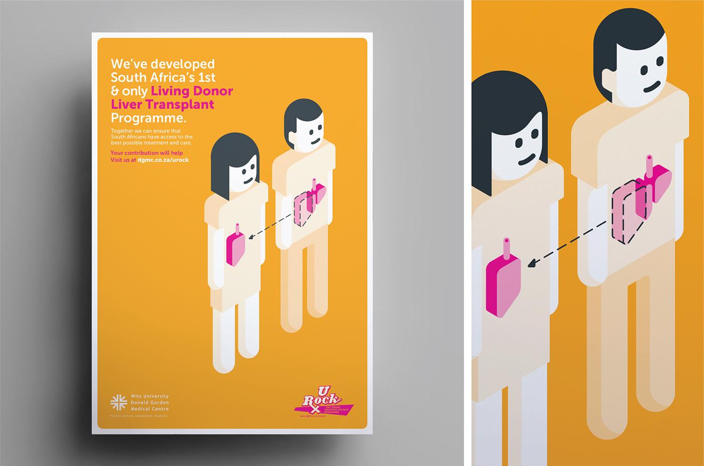 medical hospital Transplant Health Isometric