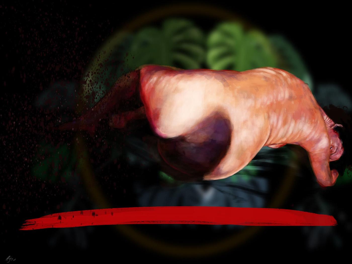 Brazilian painting Contemporary painting digital painting iPad painting pintura digital Procreate