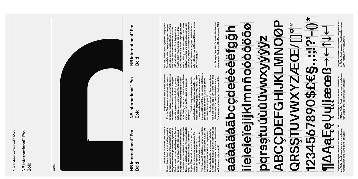 Nb international pro 2014 2018 edition on behance plus light light italic regular italic bold bold italic mono buycottarizona