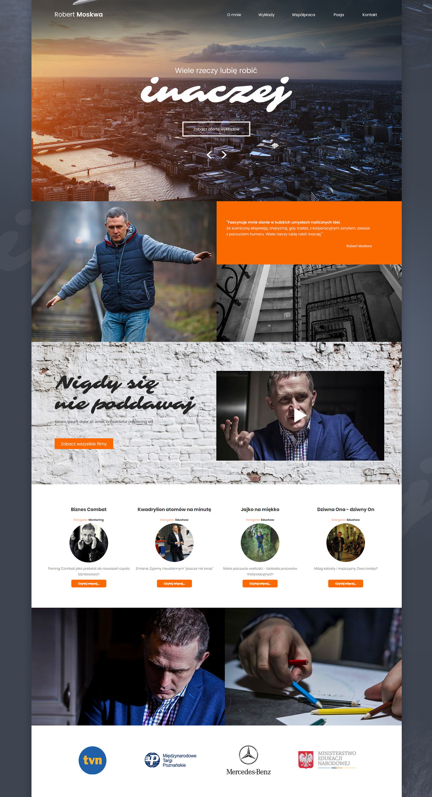 Web Design  graphic design  robert moskwa UI ux