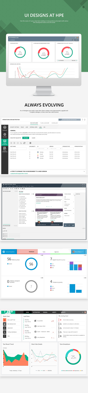 design UI ux Interface software enterprise