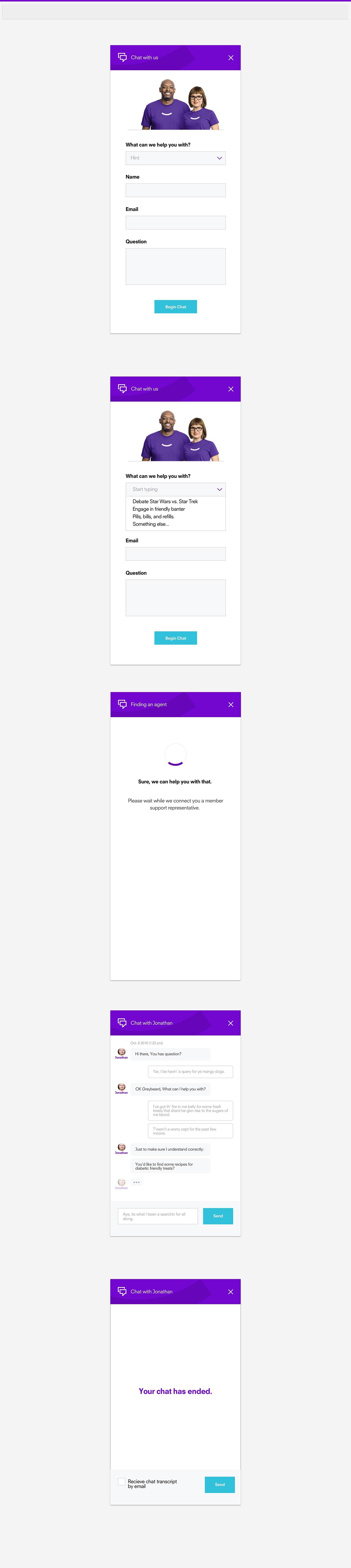 ux UI Chat graphic design  Web Design