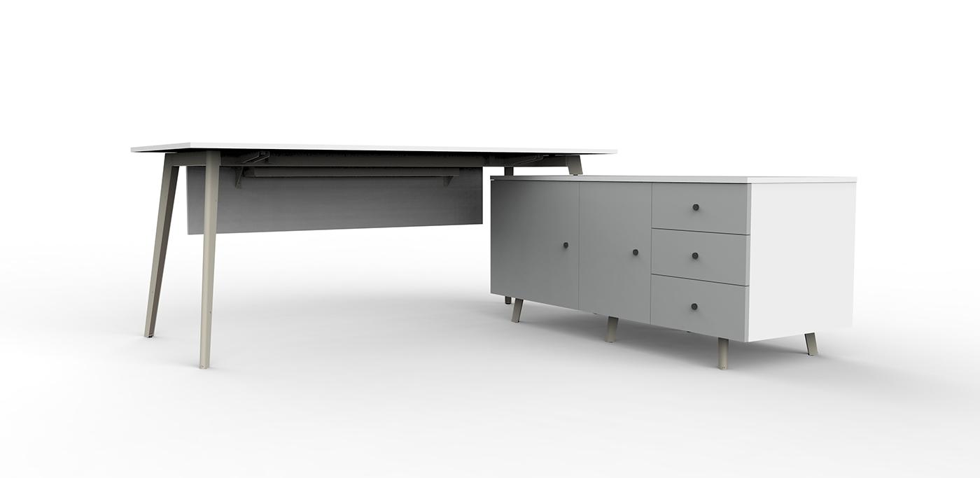 完美的17款辦公桌設計欣賞