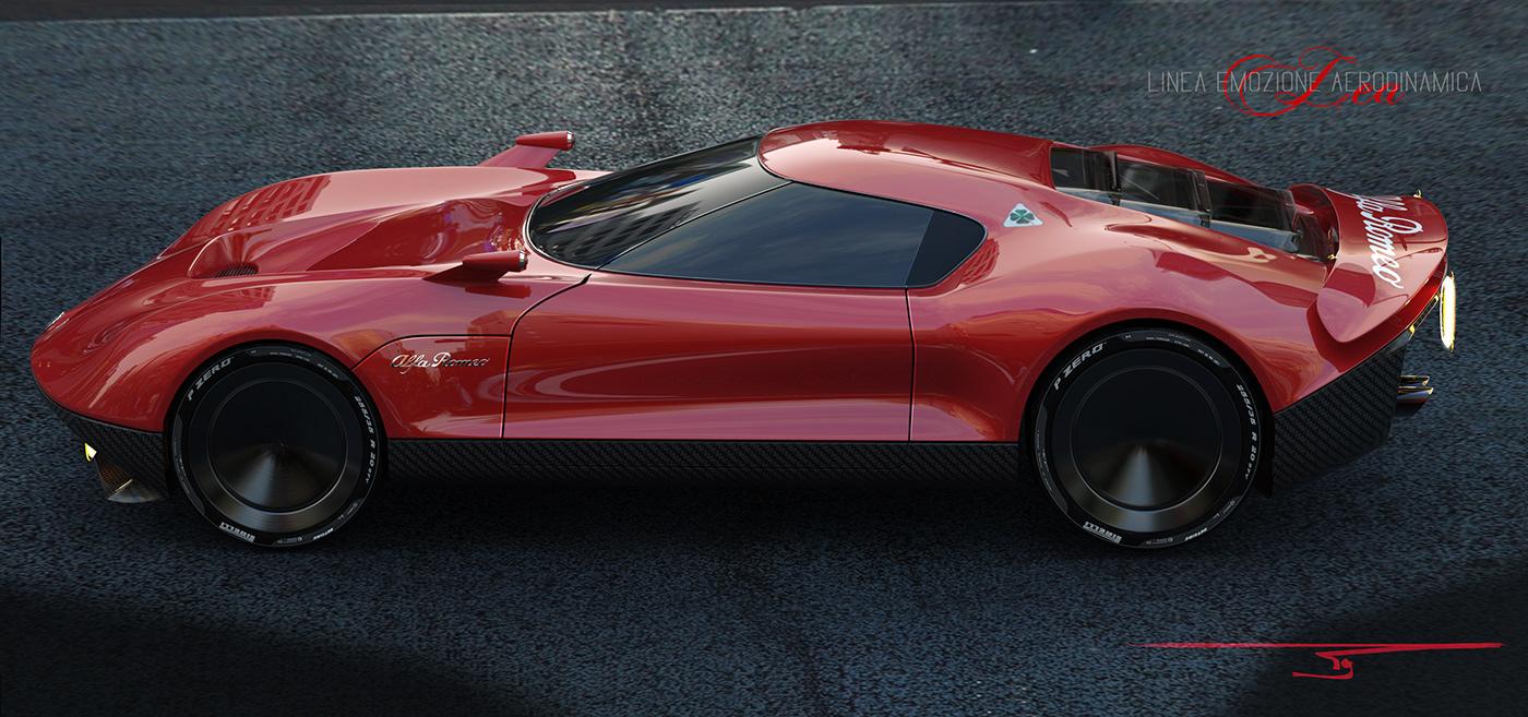 Alfa Romeo Concept Car >> Lea2019 Alfa Romeo Concept Car On Behance