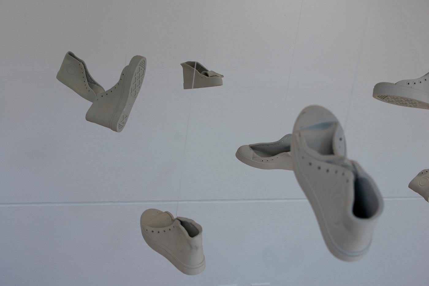 porcelana ceramica ceramic porcelain instalación arte art Hecho a mano hand made