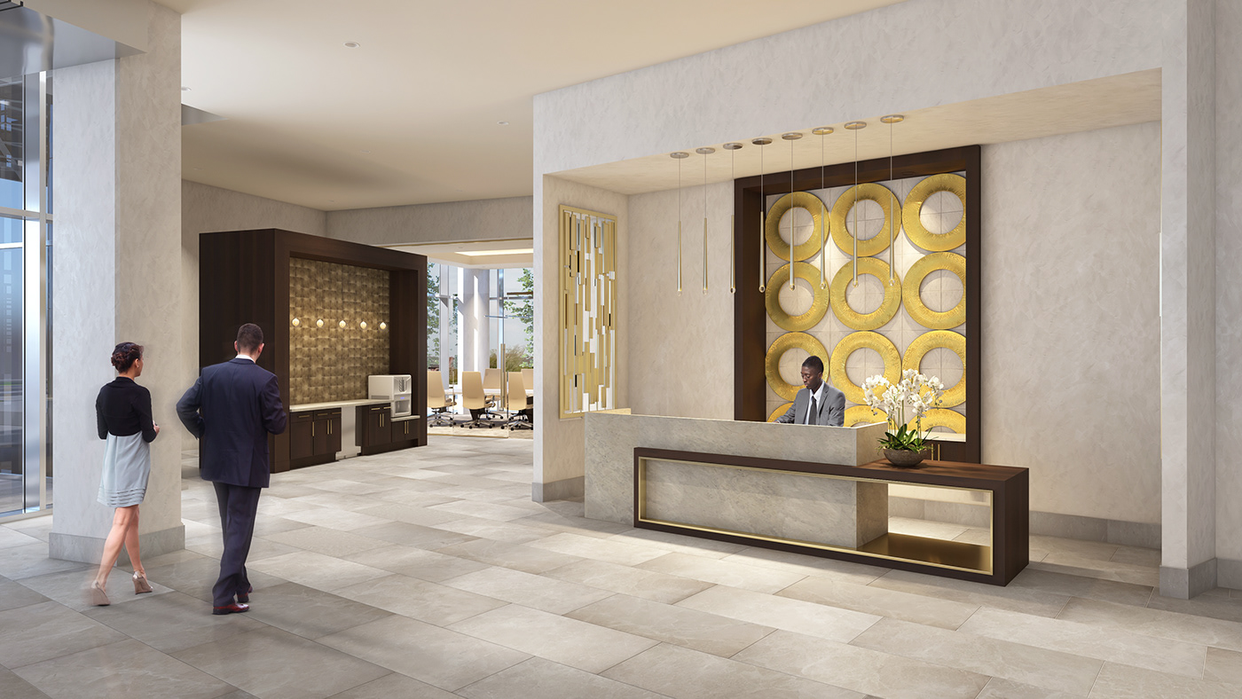 Lobby Entrance and Concierge