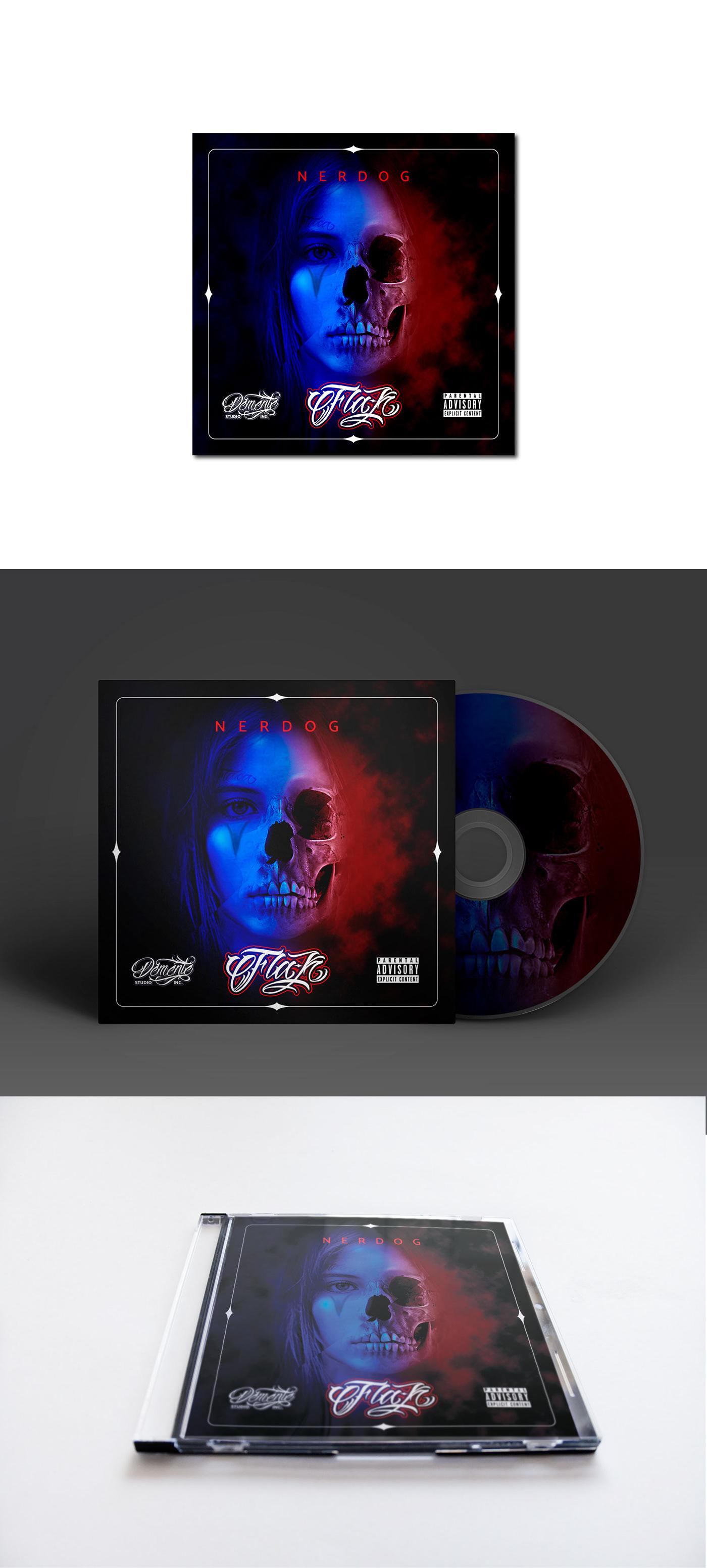 cover disc diseño gráfico hip hop rap LOS CABOS baja california sur edición