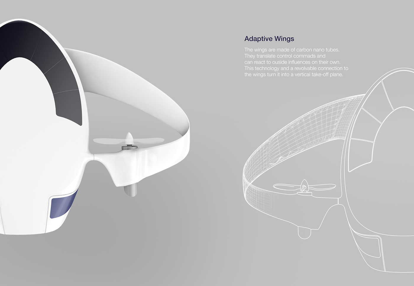 airplane short haul pininfarina shuttle airport carbon nanotubes wings plane Aircraft vertical take-off