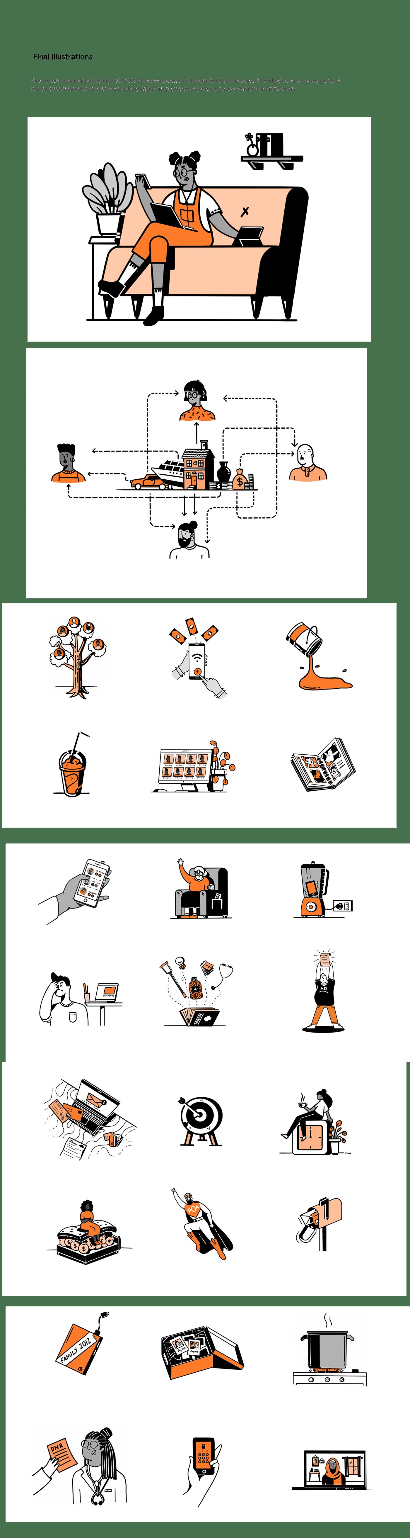 book ILLUSTRATION  print publishing