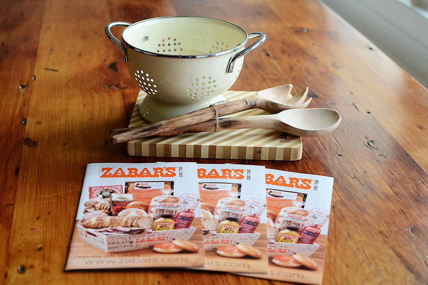 Zabar's Catalog Design Covers