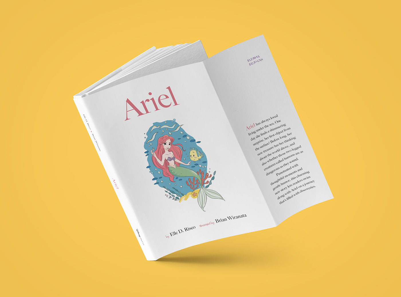 Ariel Children's Book on Behance