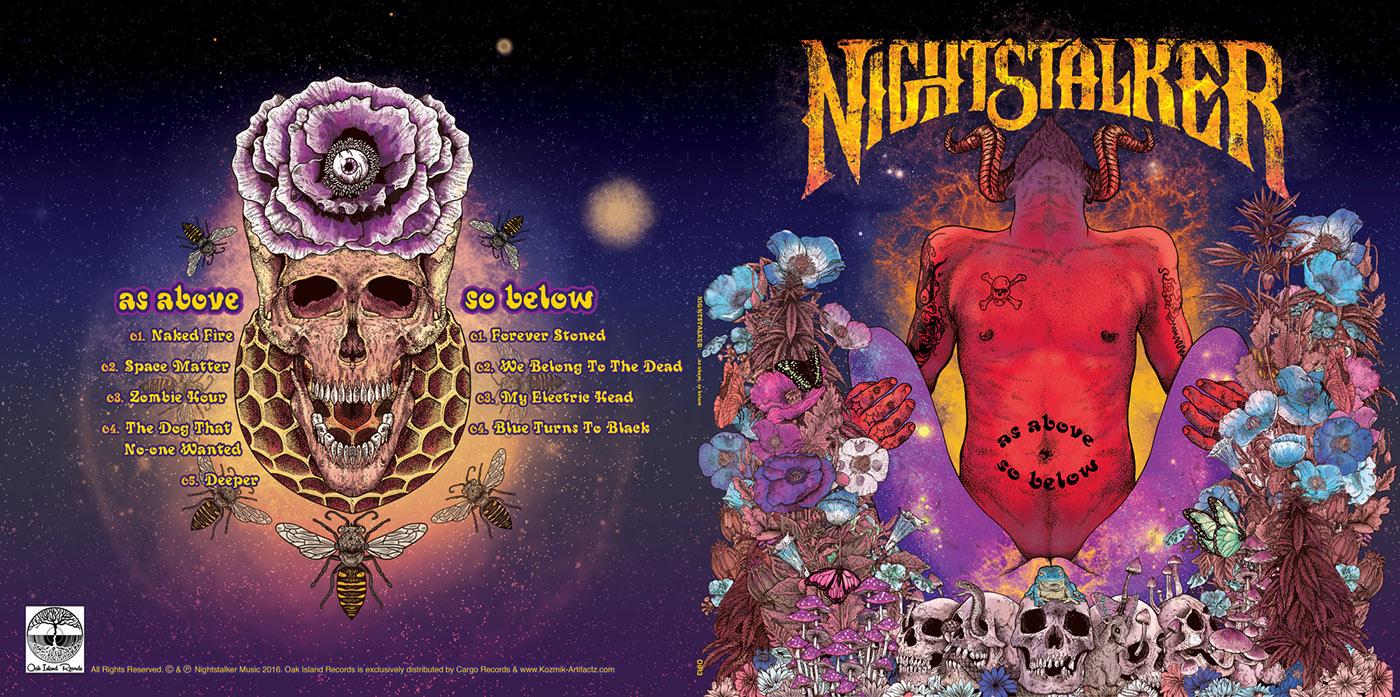 Nightstalker As Above So Below On Behance