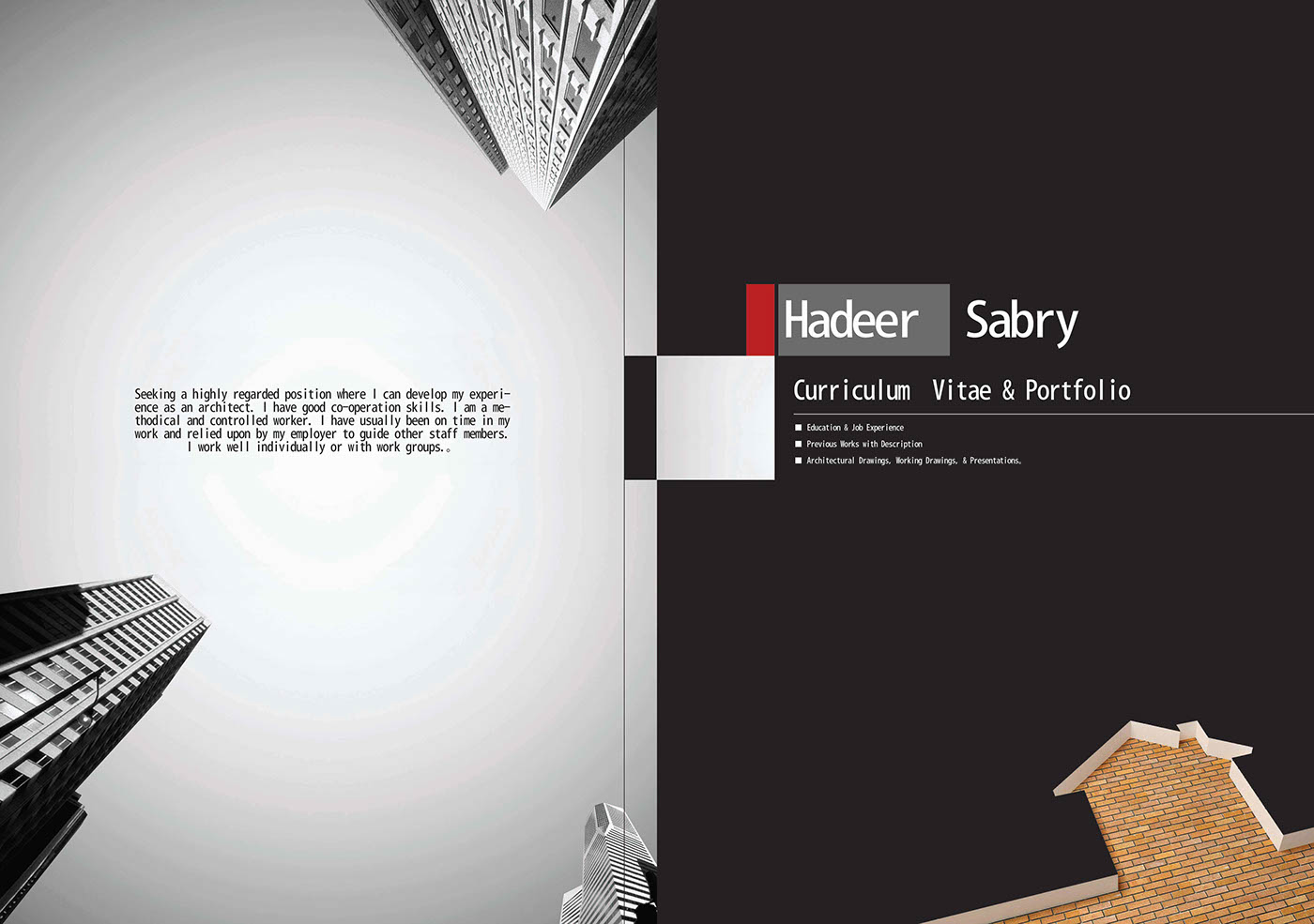 Architecture Book Cover Design ~ Hadeer sabry architect s portfolio on behance