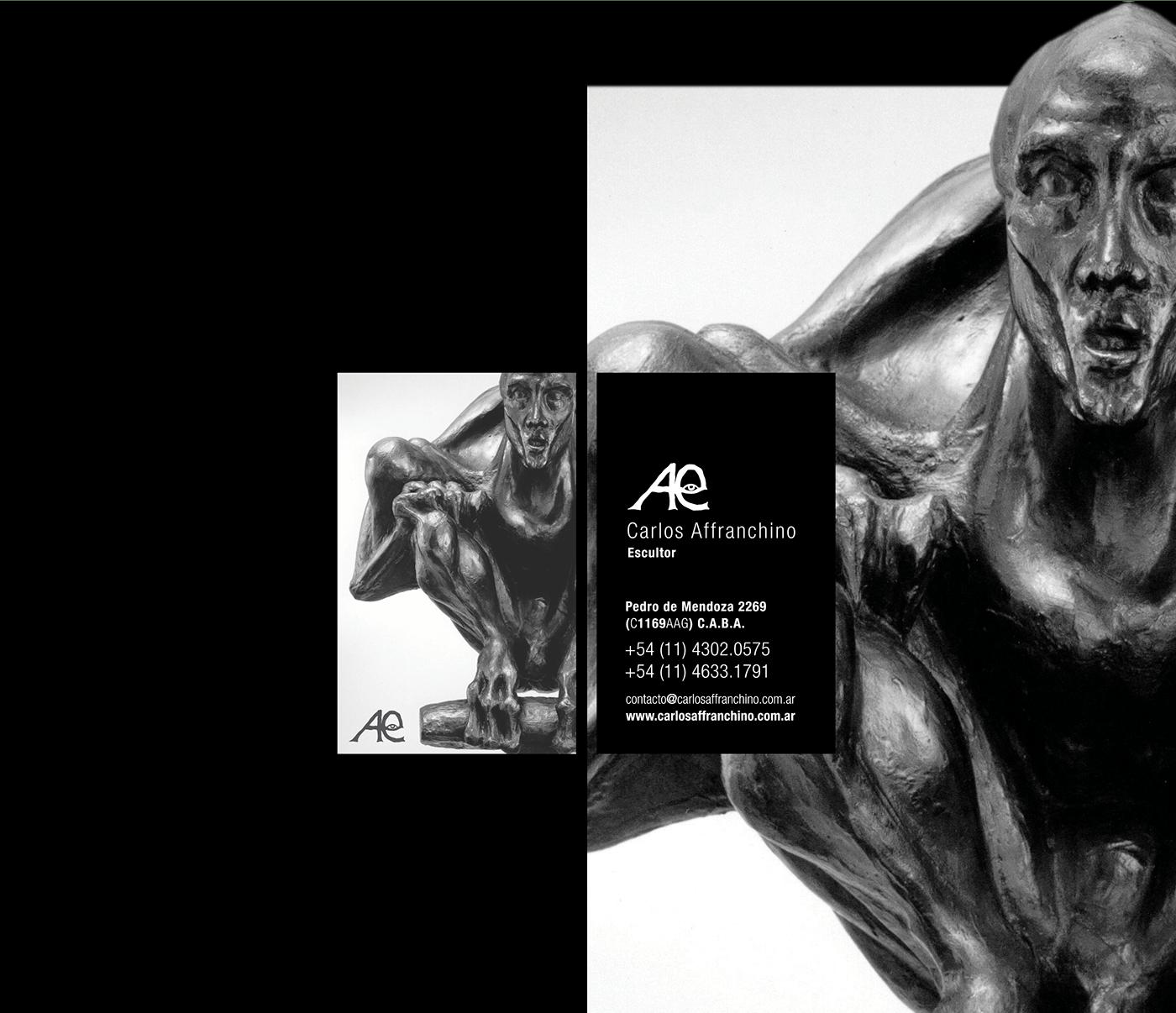 escultura sculpture arte art carlos affranchino Escultor buenos aires argentina