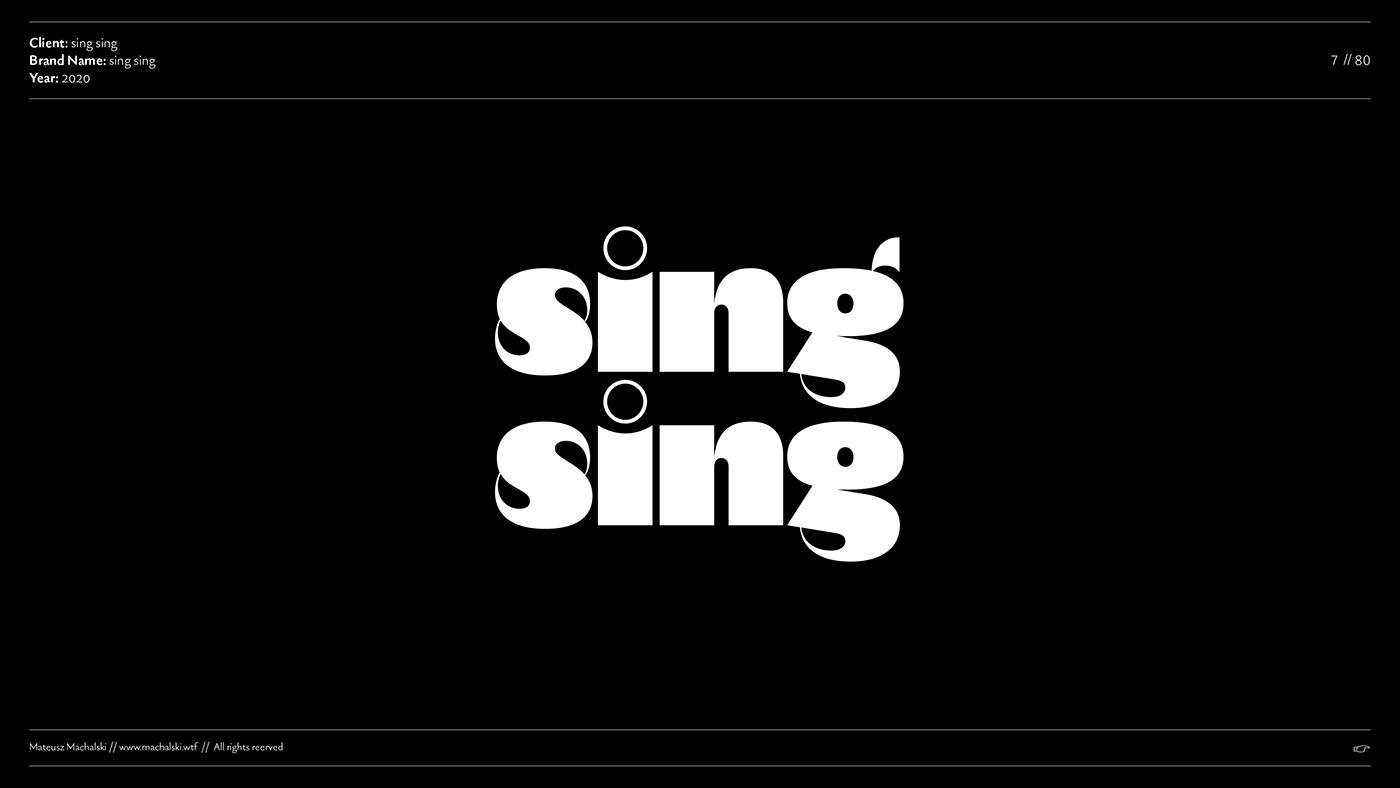 branding  logo collection Logo Design logotypes collection MACHALSKI Mateusz Machalski  typographic typography logos TYPOGRAPHY RANDING typography sign