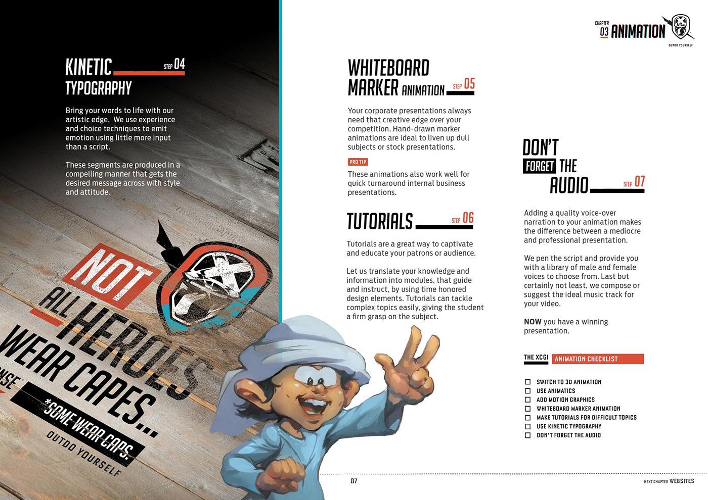 company profile profile brochure book self help company services