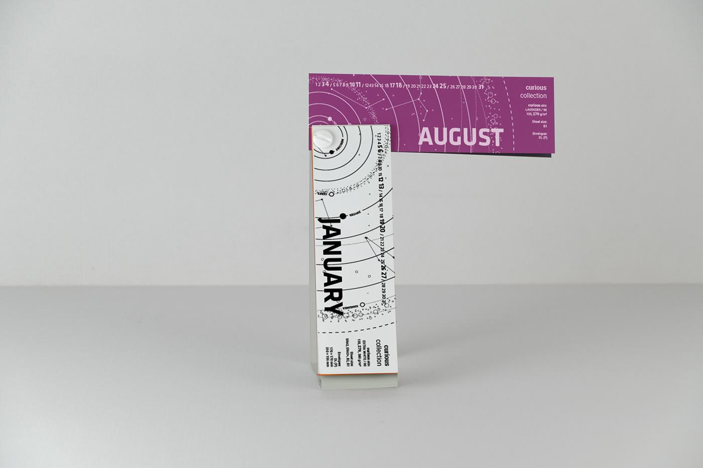 優秀的18款日曆設計欣賞