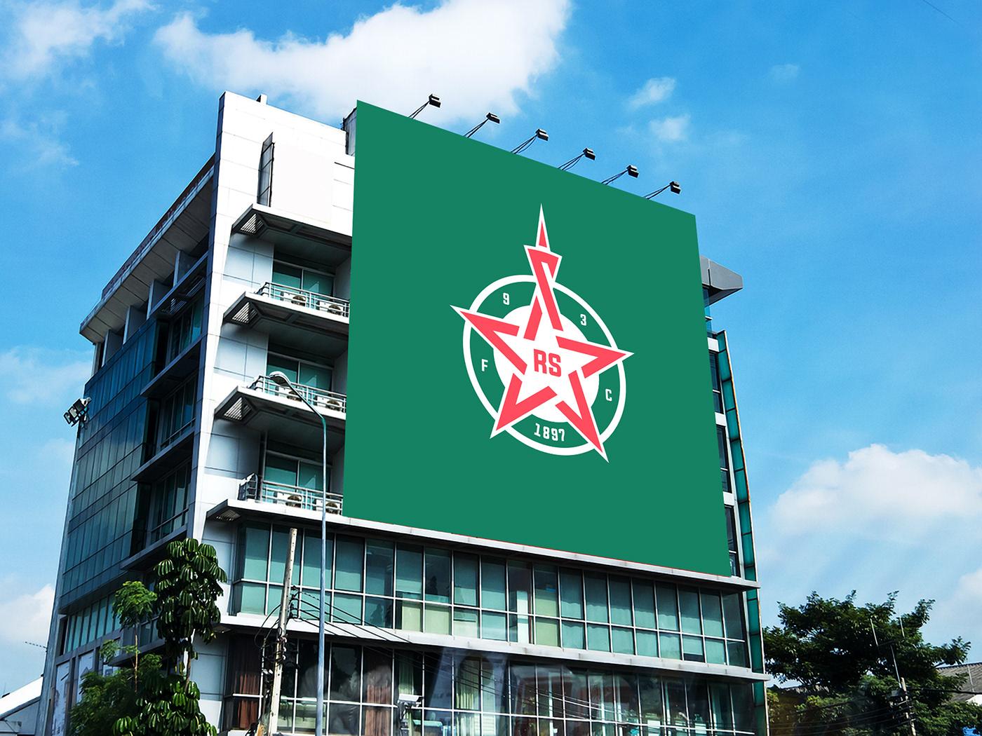 football france logo Paris Rebrand rebranding red star redesign soccer sport
