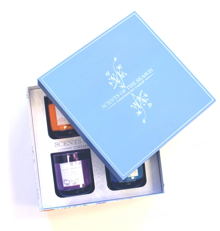 box candles design