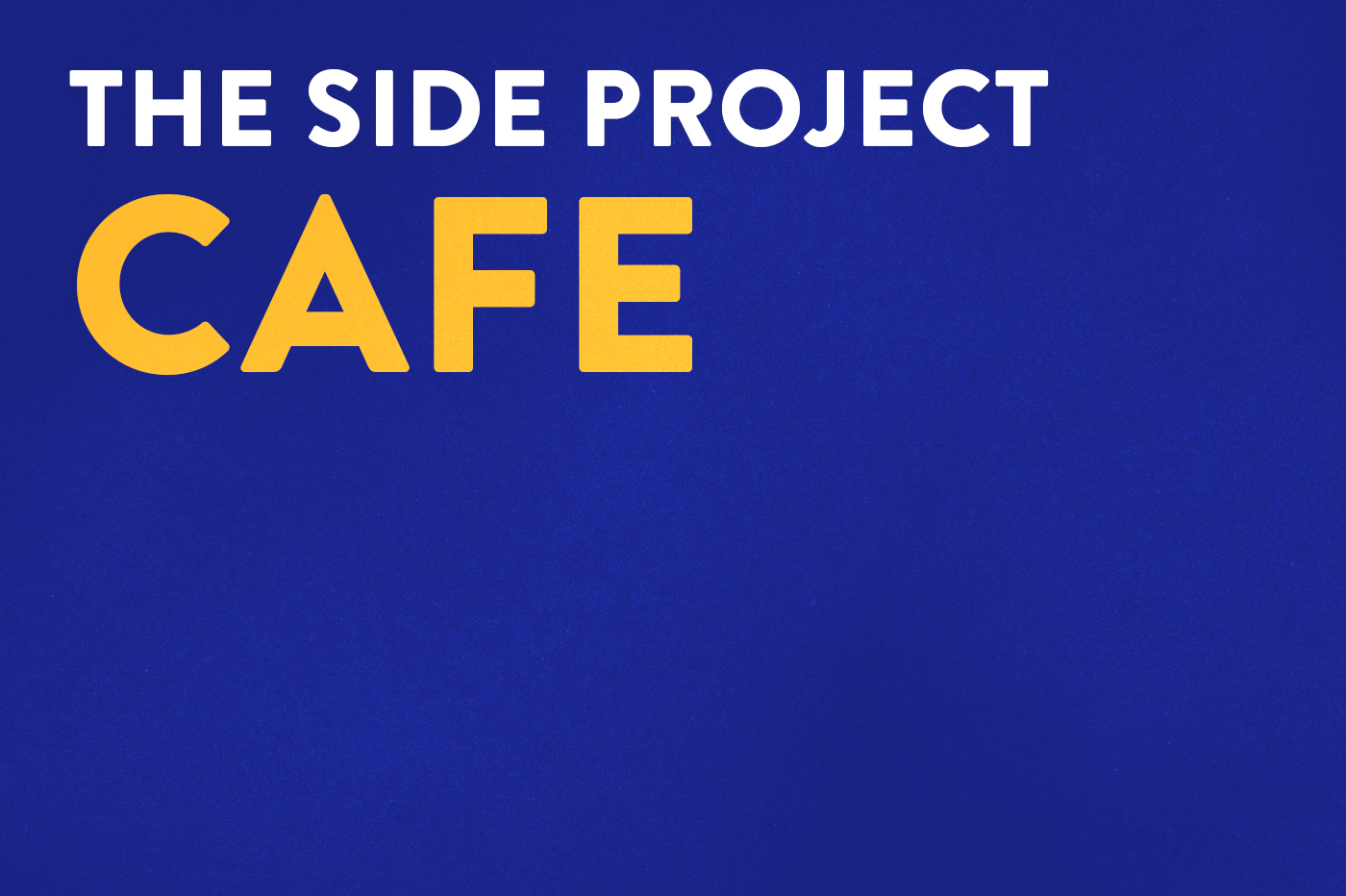 cafe coffee shop espresso logo colour typography   side Project branding  bar