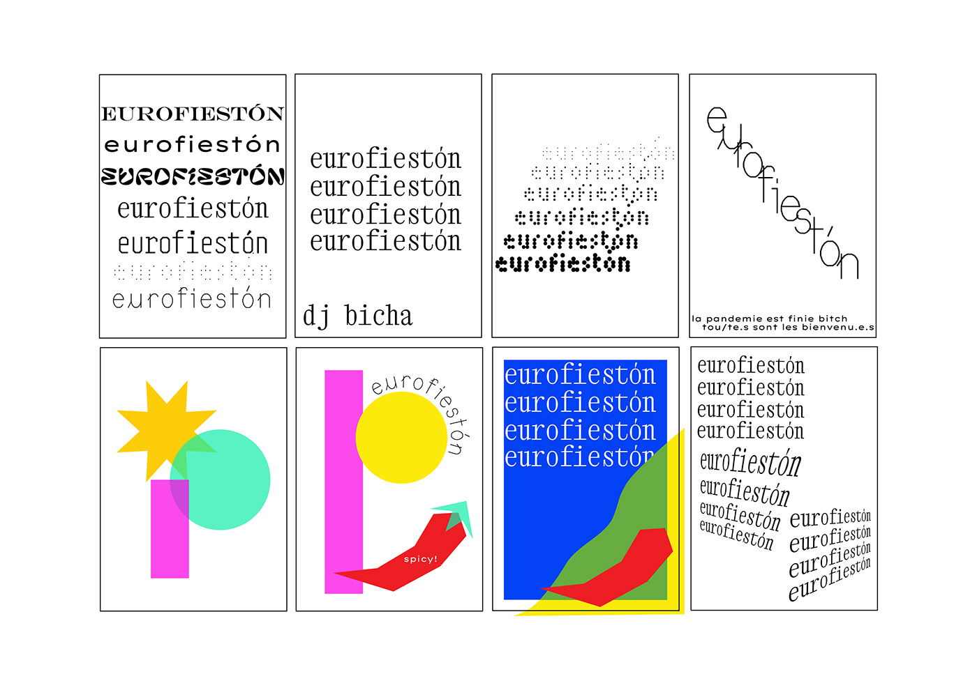 design minimal poster Retro screen print serigrafia