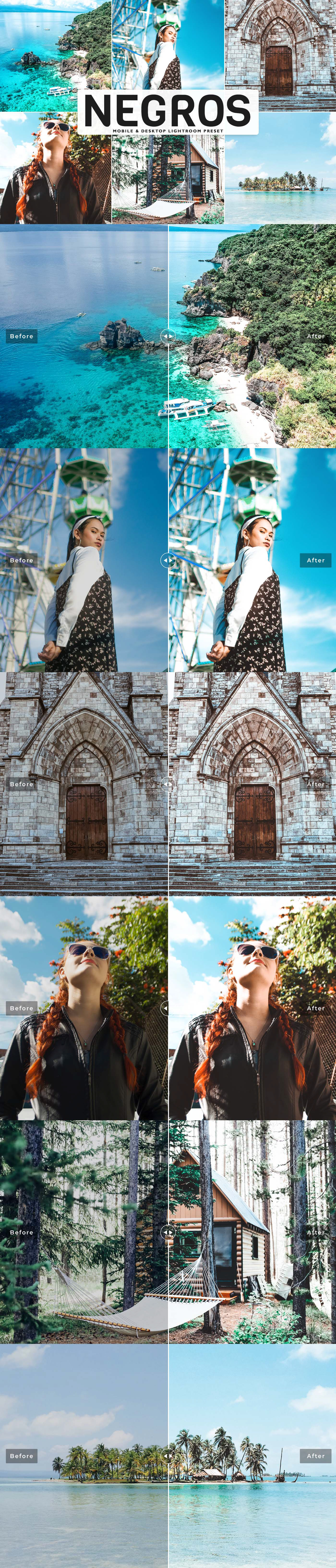 Free Negros Lightroom Preset will help you add beautiful filters, faded, glowing brown & colorful.