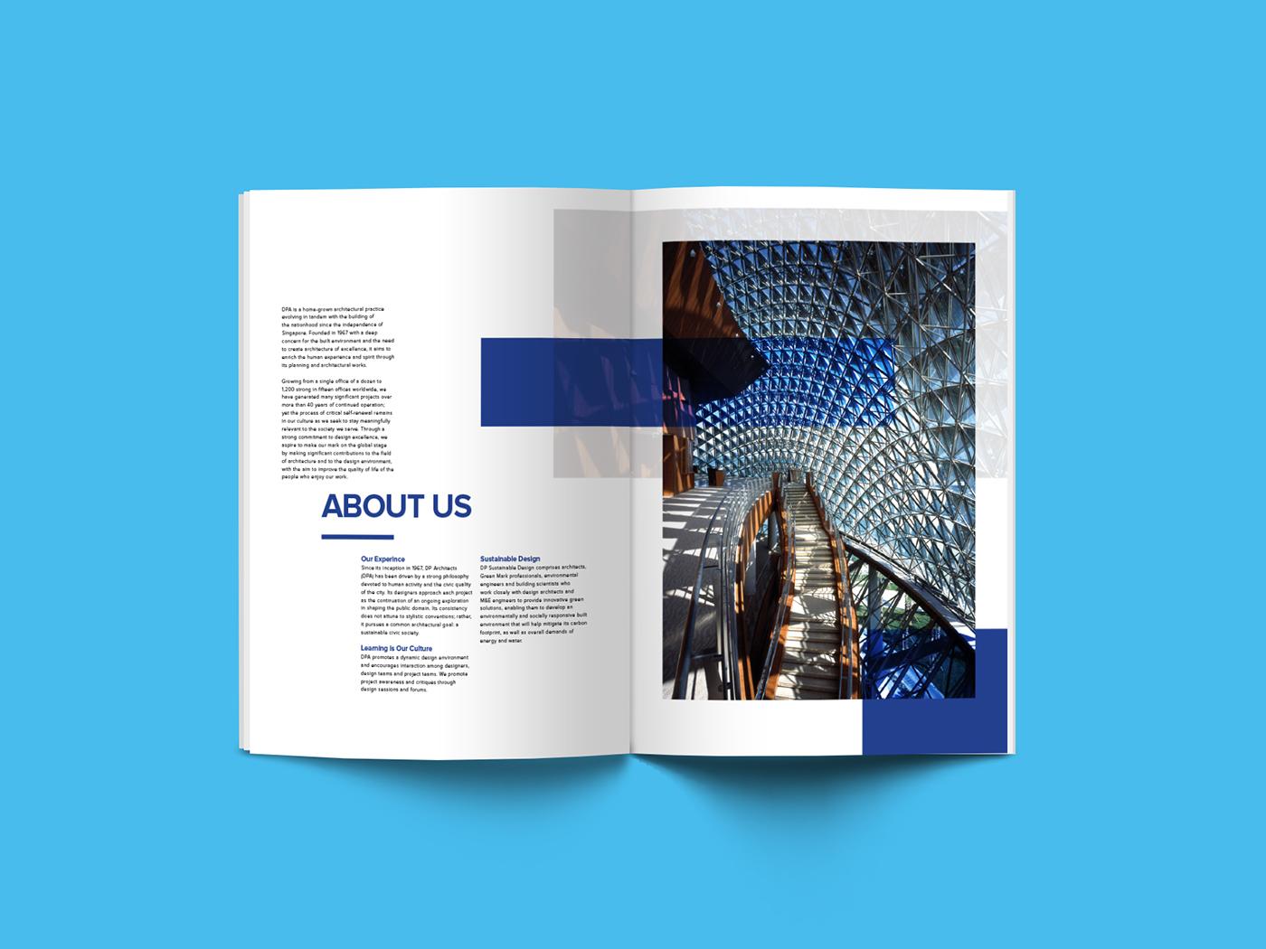 Dp Architect Brochure On Behance