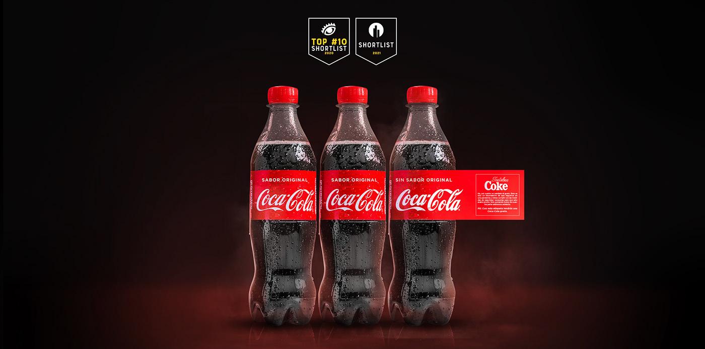 Coca Cola NUEVOS TALENTOS 2020 ojo de iberoamerica Advertising  Cannes Direct Ecuador
