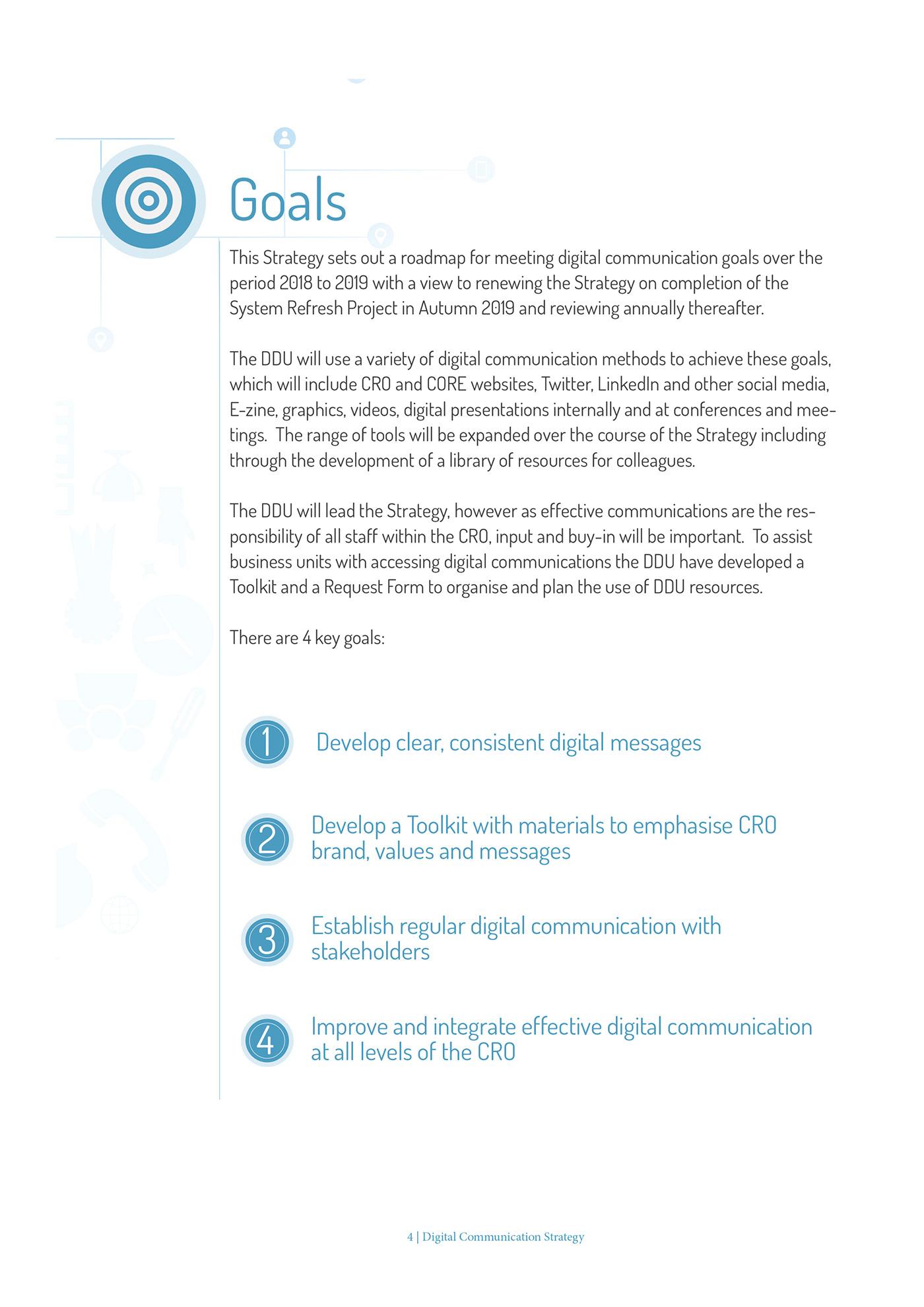 Digital Communication Strategy on Behance
