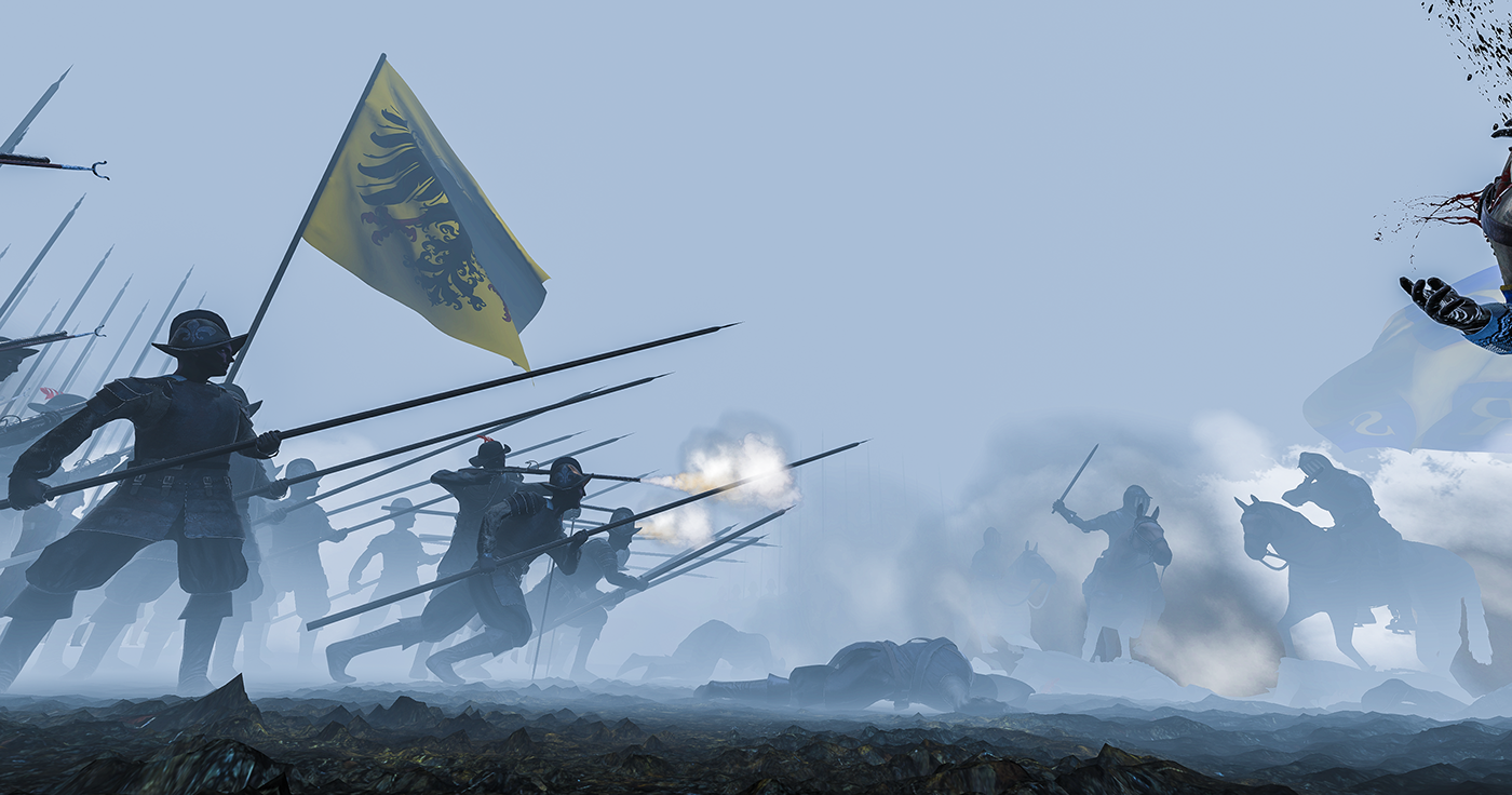 vr painting   Battle of Lützen 30Years of war history
