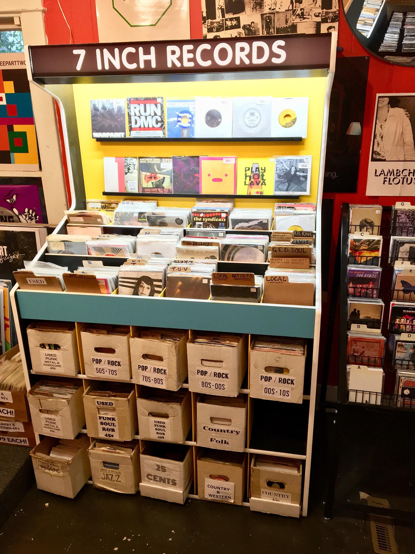 45rpm Record Shelf on RISD Portfolios
