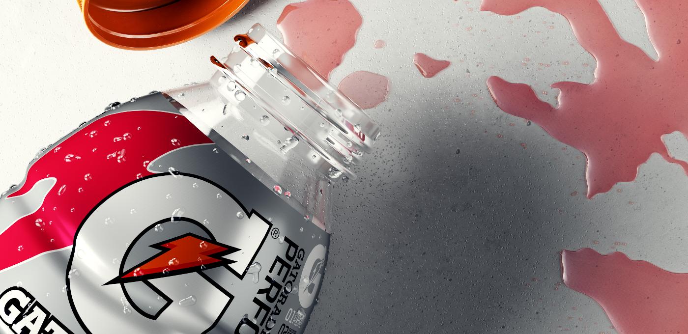 alexis gatorade spills art Work  red portrait face stencil fluids Liquid