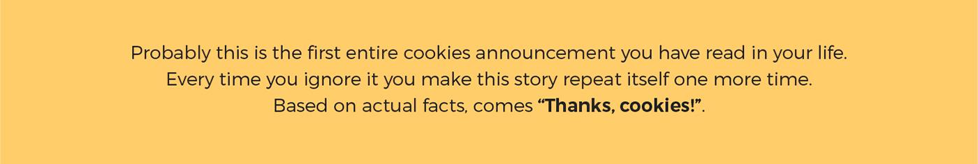 thanks cookies short anamorphic Film