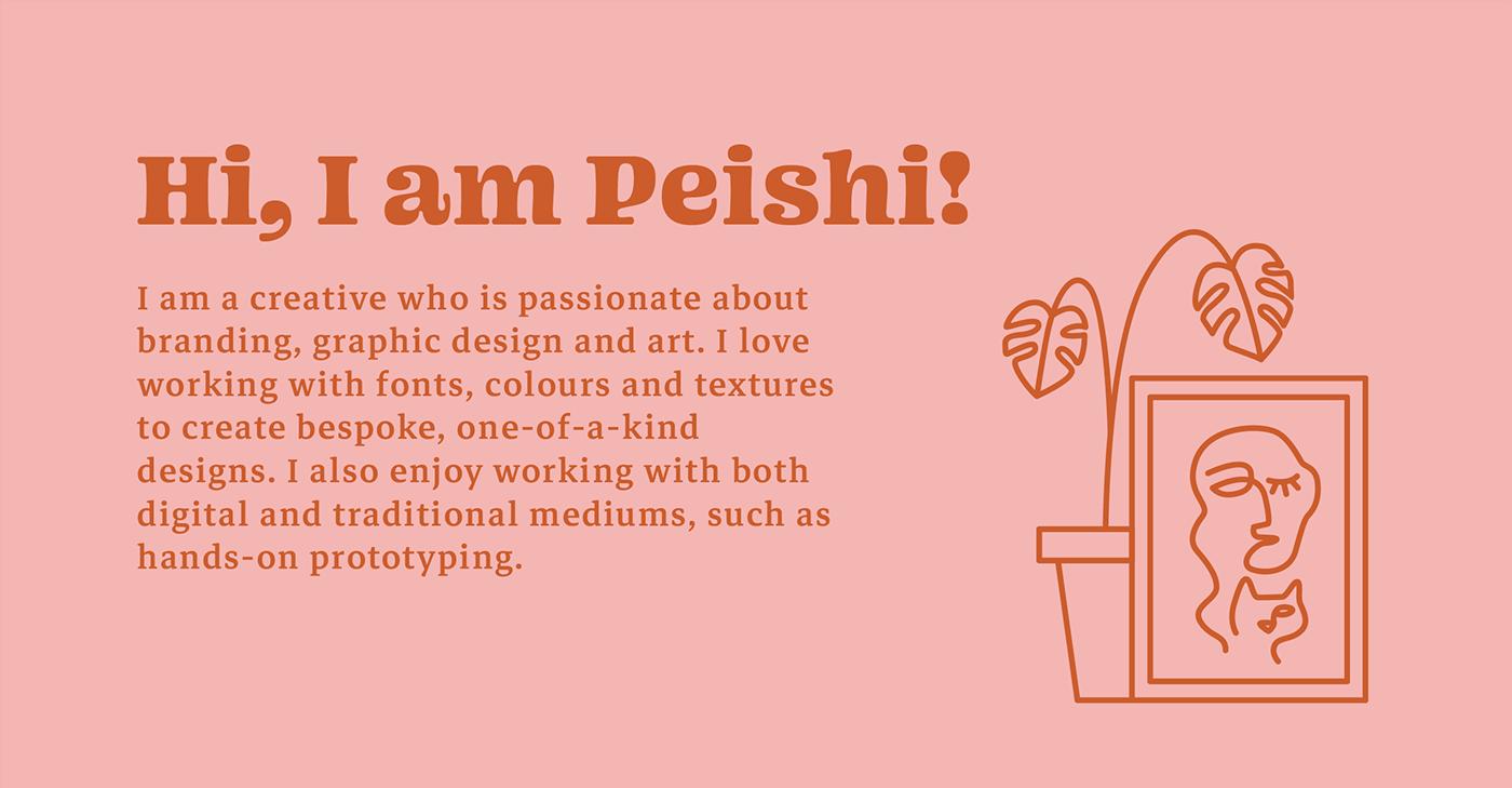 aesthetic art artsy bespoke branding  ILLUSTRATION  interactive personal branding self branding