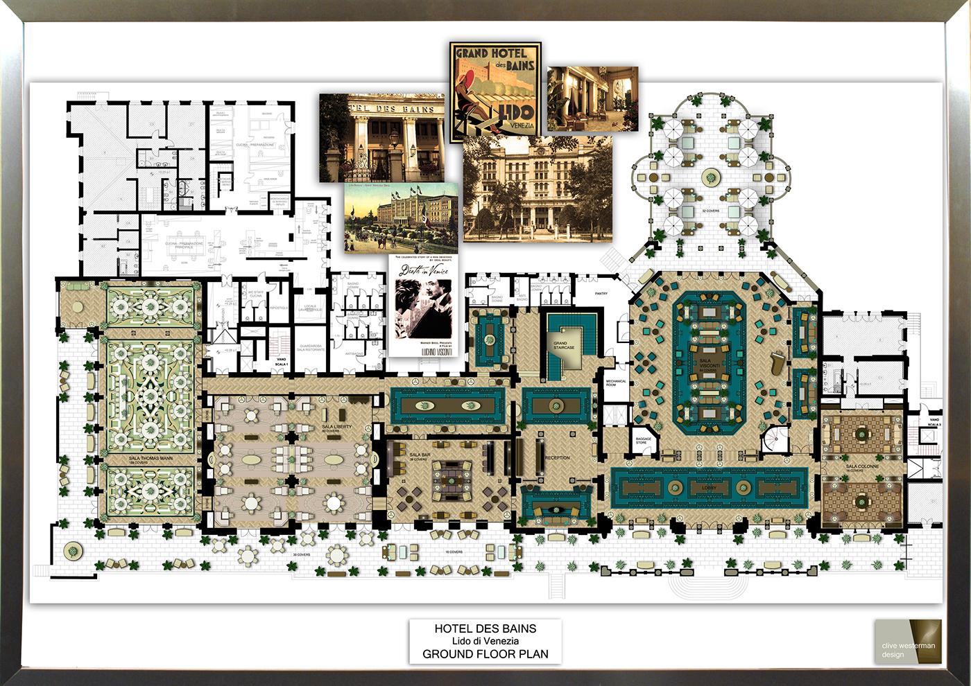 Resultado de imagen de hotel des bains venice architecture