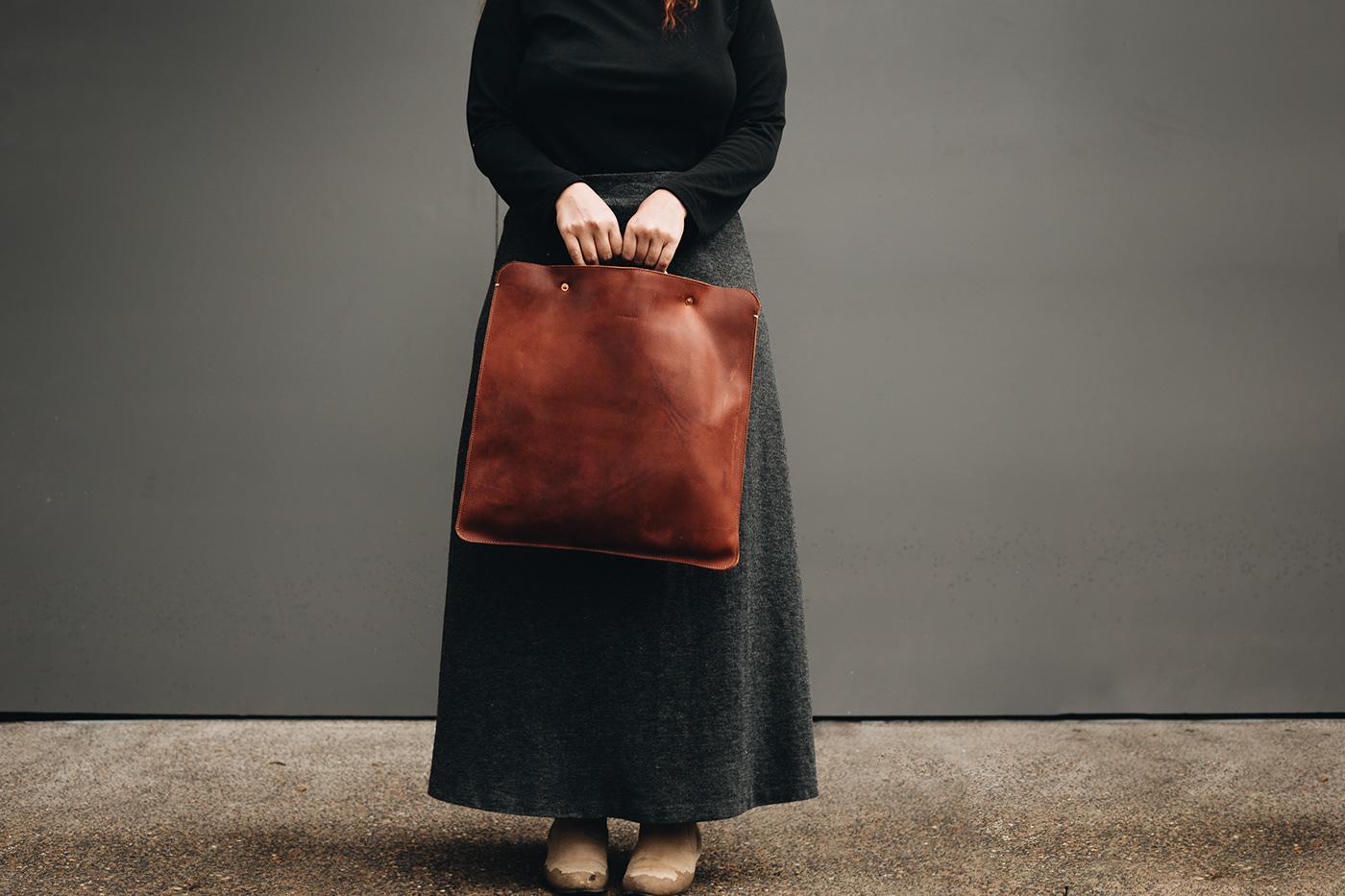 adolfo navarro bag Fashion  Guadalajara leather leather goods lo esencial mexico minimal Tote Bag