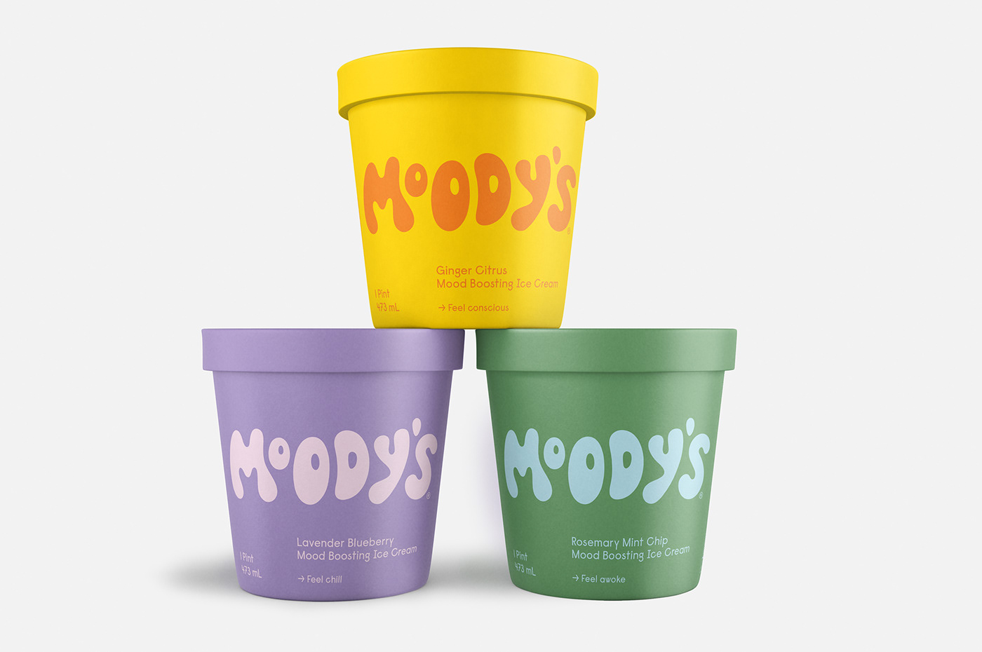 Moody's packaging and branding design by Abby Haddican Studio
