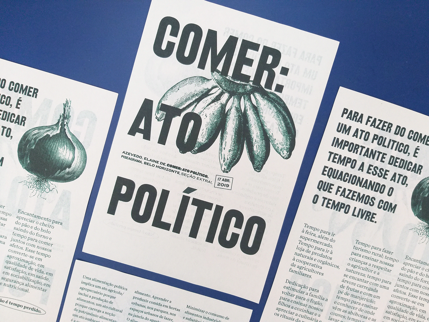 design Food  journal manifesto