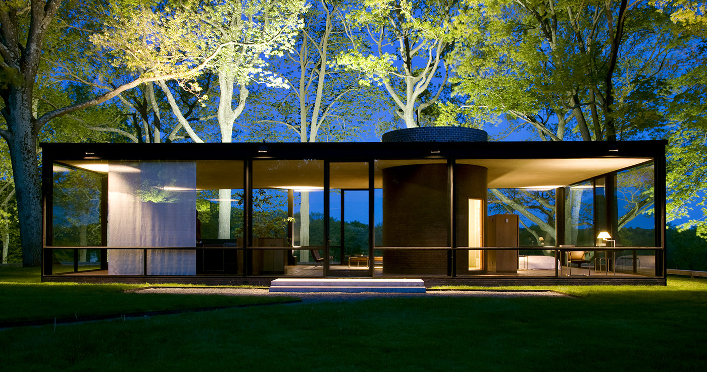 Philip Johnson39s Glass House Golden Section Analysis