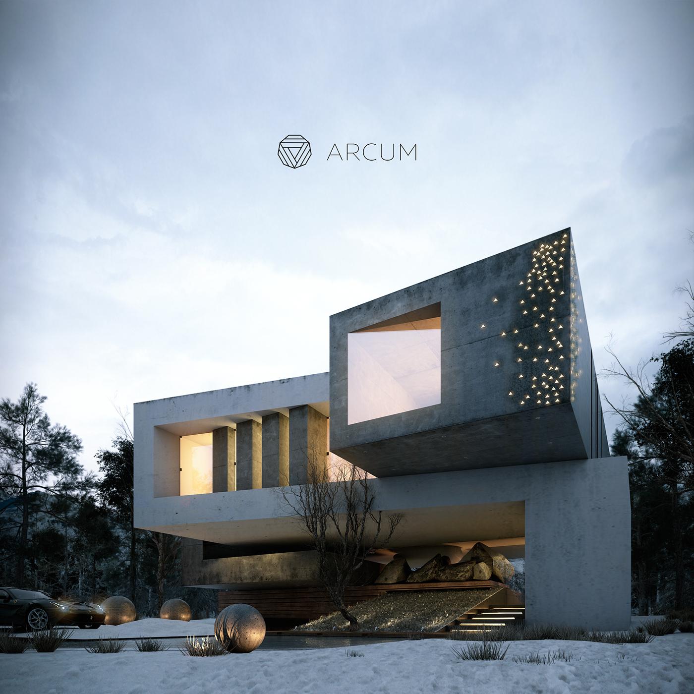 Home Front Elevation Designs : Aljha ledem on behance