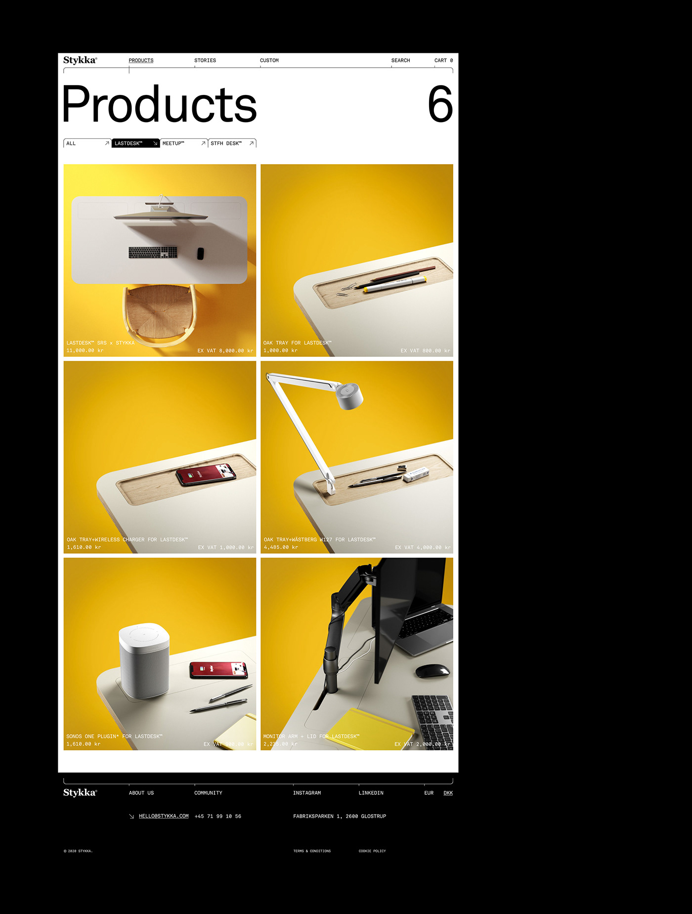 art direction  e-commerce furniture Webdesign Website