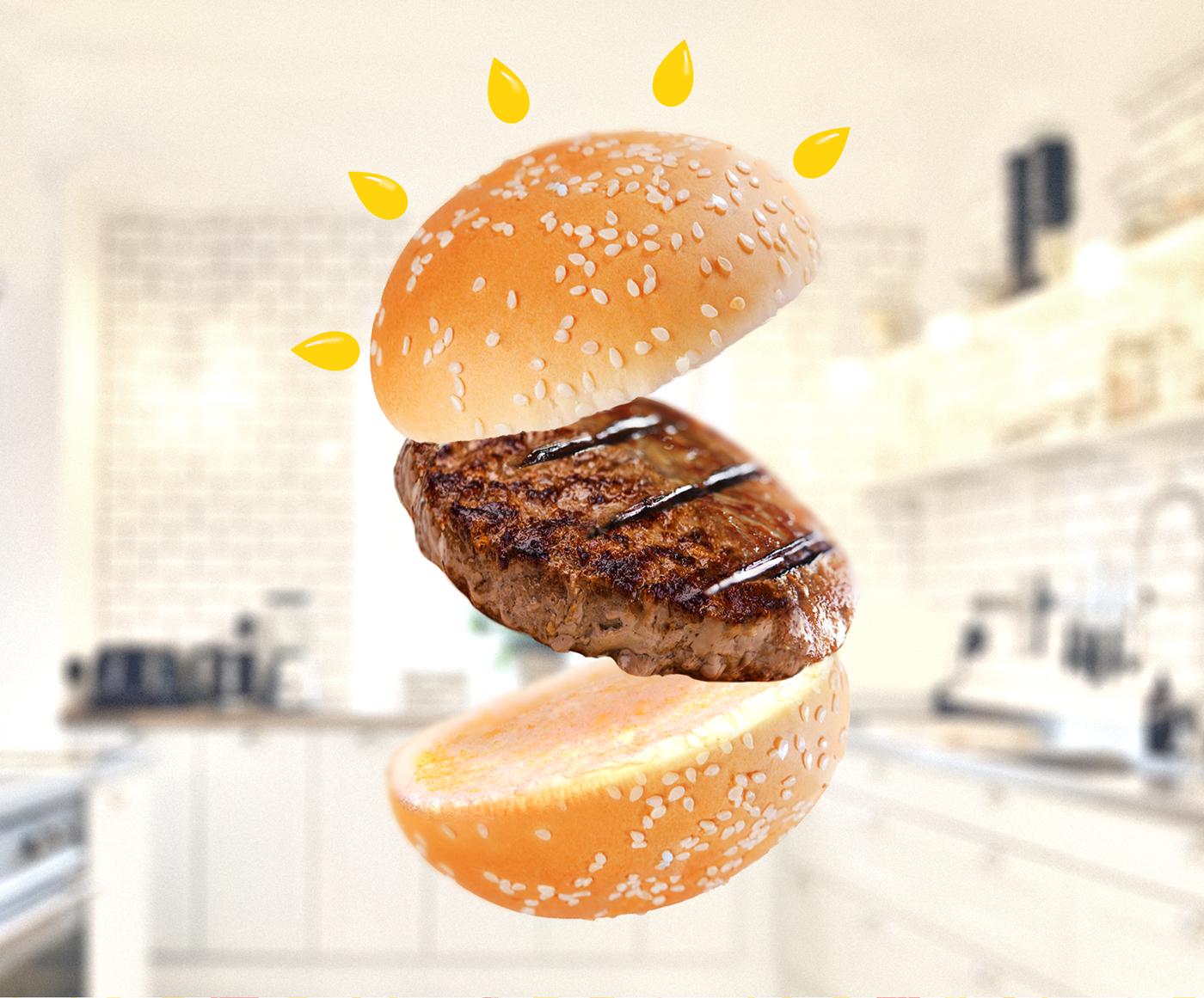 graphicdesign branding  logo identity fastfood amothdesign amoth burger bistro amothstudio