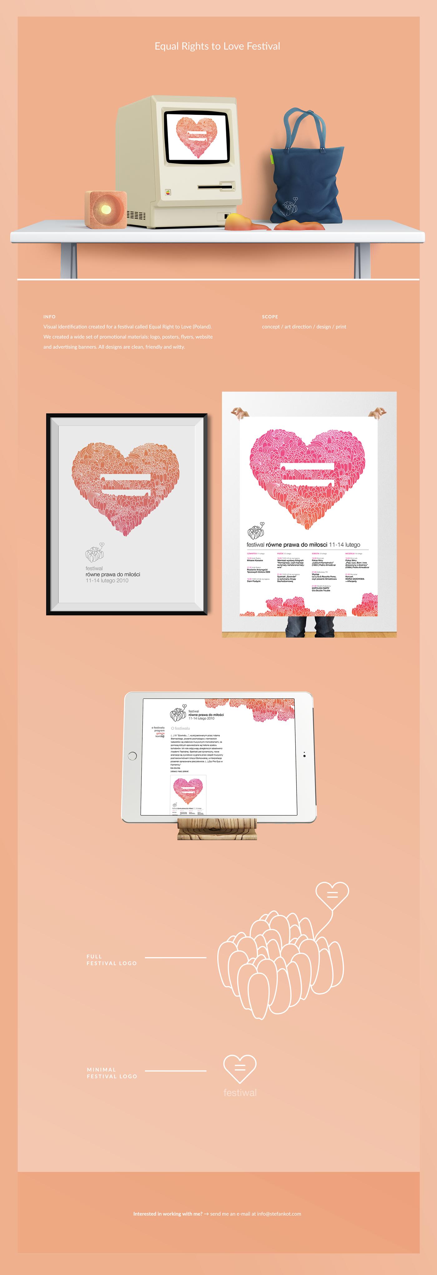 minimalistic Webdesign design UI ux graphic warm Love redable friendly