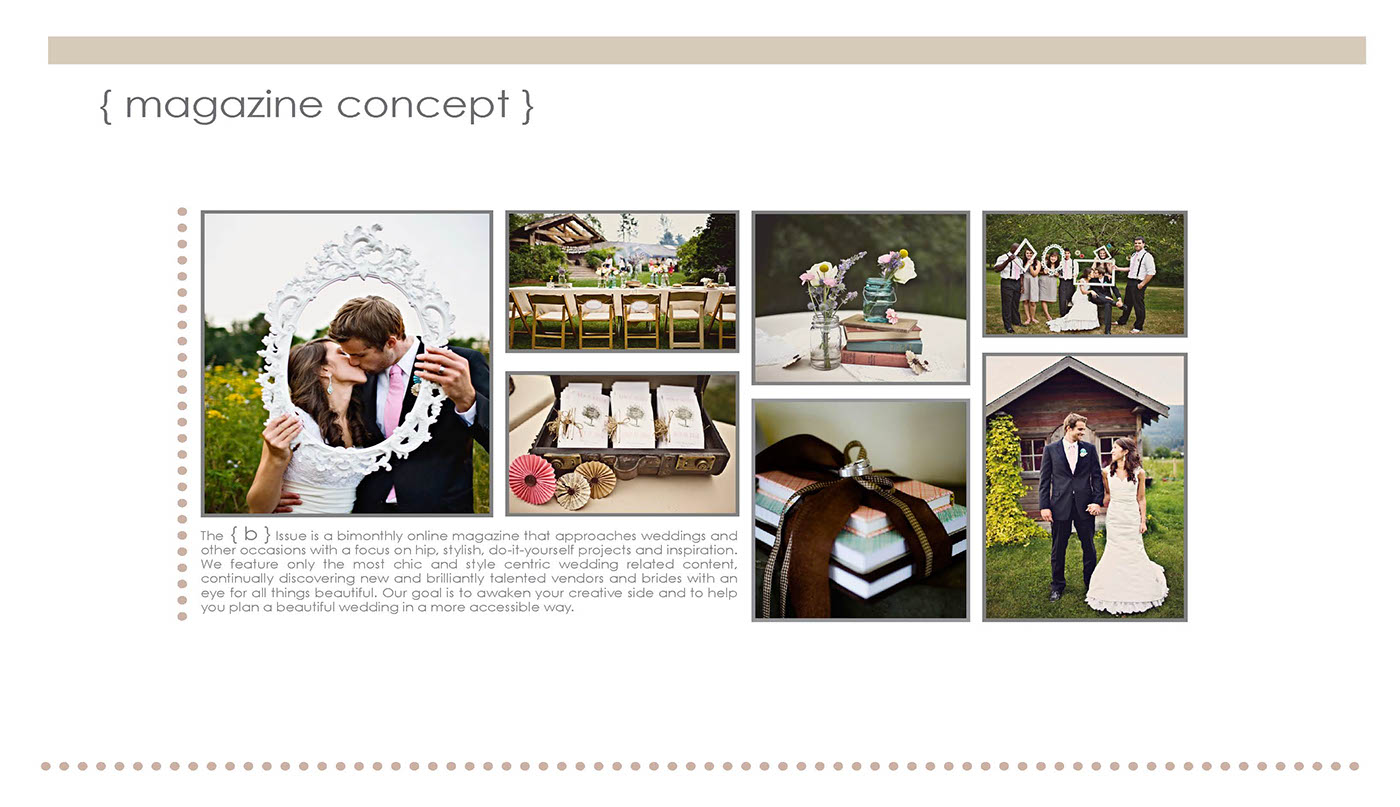 Online diy bridal magazine on behance solutioingenieria Image collections