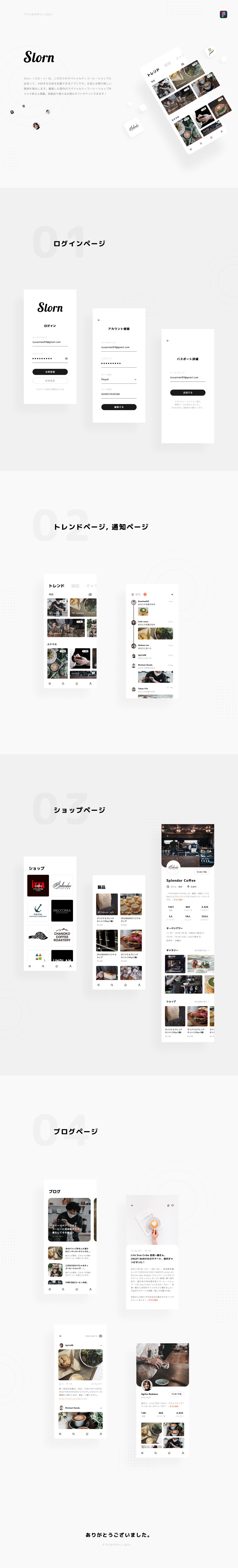app cafe Coffee ui design