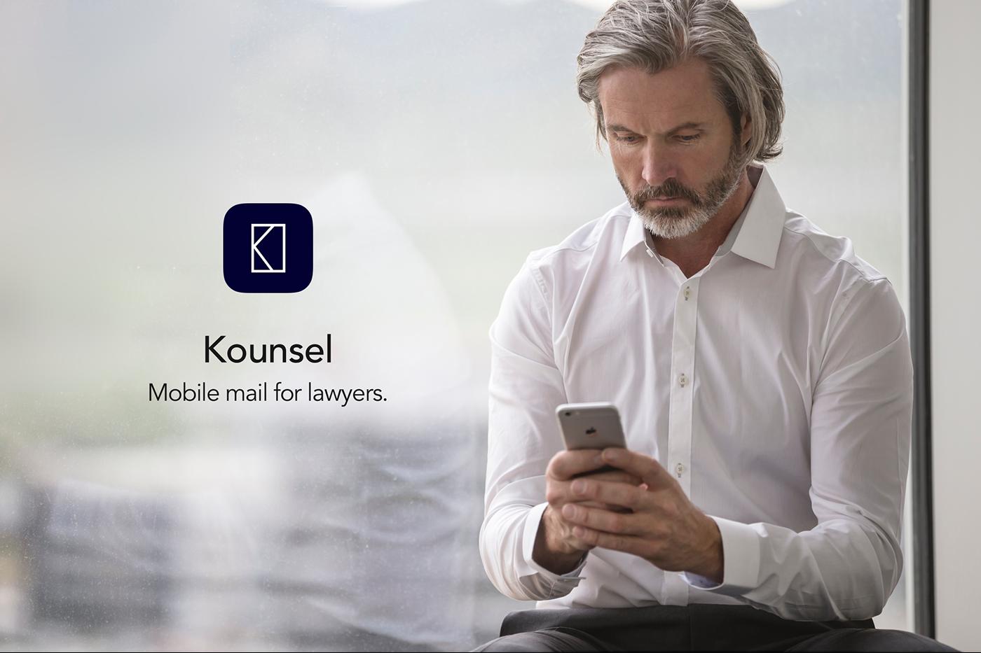 Adobe Portfolio ux UI Email app design ios iphone Mobile app app Icon inVISION