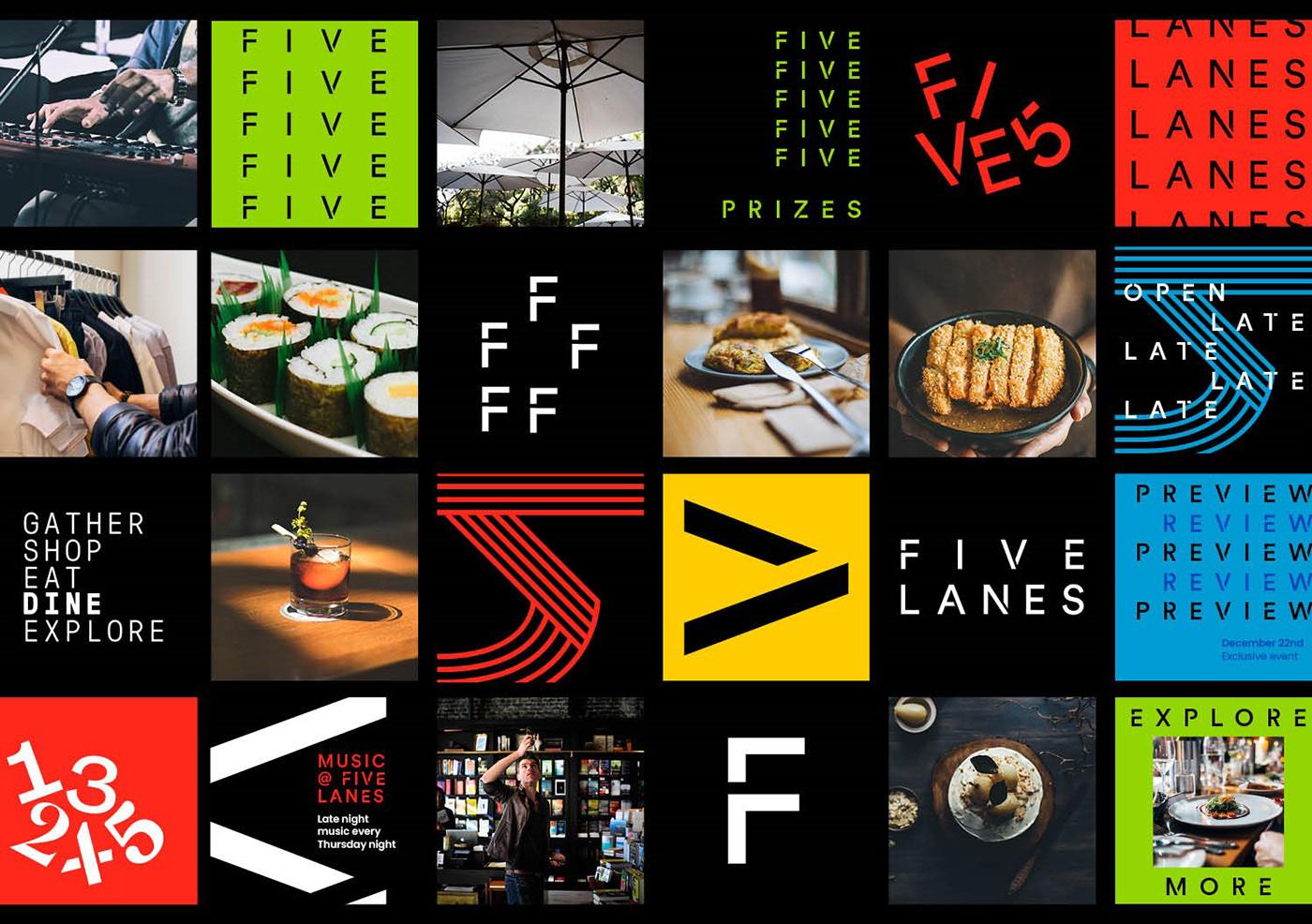 bold colors brand identity branding  graphic design  logo Signage Typeface typography   visual identity wayfinding